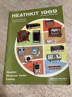 Catalog 1969 Heathkit Heath Company Electronic Brochure Schlumberger
