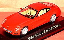 FERRARI 612 Scaglietti Coupé 2004-10 Rojo Rojo 1:43 IXO fer009