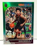 Kevin Porter Jr RC GREEN PRIZM 2019-20 Hoops Premium Stock #225 READY TO GRADE