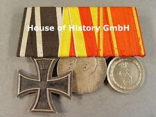 3er medaglie SPANGE: Croce di Ferro, Baden Medaglia al merito, premio servizio