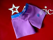 "American Girl 18"" GOTY Retired Kanani Doll Nylon Beach Board Shorts To Swimsuit"