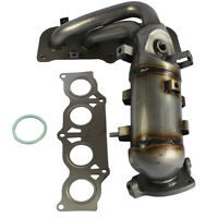 with Catalytic Converter Exhaust Manifold For 2.4L Toyota Camry Solara 02-06 New