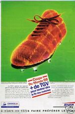 Publicité Advertising 1998 SNCF Coupe du monde 98 TER