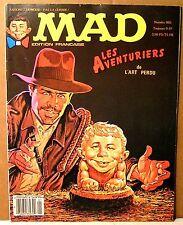 """rare mensuel BD """" MAD """" français n°5 - 1982"""