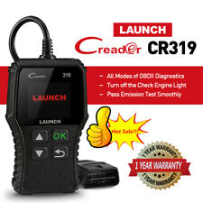 Launch CR319 Automotive OBD2 Scanner OBDII EOBD Code Reader Check Engine Light