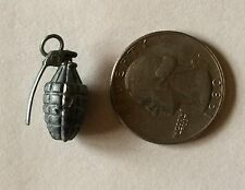 Cracker Jack Gumball Premium Toy Prize Hand Grenade Military Charm