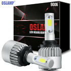 9006 HB4 CREE 980W 147000LM LED Headlights Kit Bulb 6500K High Power vs 120w HID