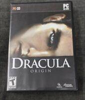 Dracula Origin PC video game 2008 vampire role playing adventure