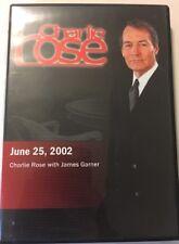 Charlie Rose with James Garner (June 25, 2002) (DVD, 2006)