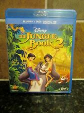Jungle Book 2 (Blu-ray/DVD, 2014, 2-Disc Set & Digital HD) NEW/SEALED  FREE SHIP
