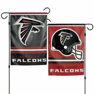 Atlanta Falcons Garden Flag 2 Sided Outdoor Window Yard Banner New Man Cave