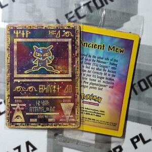 Pokemon card ANCIENT MEW ANTICO SIGILLATO Sealed Promo Wizard WOTC Nintendo PSA