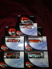 100% Hot Wheels Collector Cars With Acrilic Case Lot Of 5 Limited Edition 2000