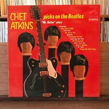 CHET ATKINS PICKS ON THE BEATLES JAPAN LP