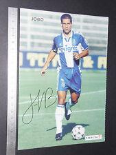 CARTE OS CRAQUES D'O JOGO PORTUGAL 1996-1997 FOOTBALL FUTEBOL BARROSO FC PORTO