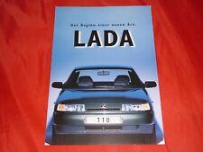 LADA 110 111 Prospekt Brochure von 1996