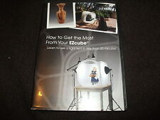 RARE DVD How to Get the Most From Your EZcube Learn Light TENT INSTRUCTIONAL