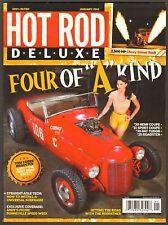 HOT ROD DELUXE Magazine - January, 2013