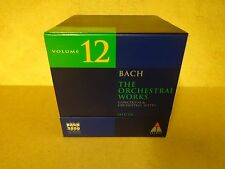 10-CD BOX BACH 2000 TELDEC DAS ALTE WERK VOLUME 12 / BACH - THE ORCHESTRAL WORKS