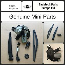 GENUINE MINI / ONE  2001-2007 VALEO REAR WIPER MOTOR FULL KIT TRICO REPLACEMENT
