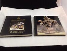 Set of 2 Books Lladro: The Magic World of Porcelain & The Art of Porcelain