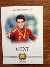 2014 Futera Unique Football Soccer Card Spain Chelsea MORATA Mint