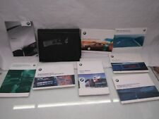 BMW E38 7 series 94-01 3.5 owners handbook manual service stereo books wallet