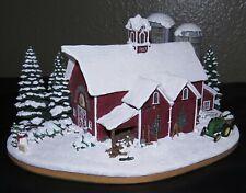Danbury Mint Twin Pines Farm John Deere Tractor Collectible Original Box & Coa