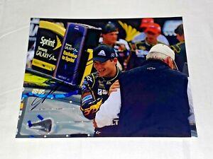 Jeff Gordon NASCAR HALL OF FAMER VICTORY CELBRATION MR.H 8x10 autographed photo