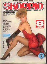 L8  SKORPIO N. 52 ANNO XI DEL 1987 - IN COPERTINA ELVIRE AUDRAY