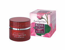 ROSE OF BULGARIA NATURAL ANTI-AGE FACE CREAM WITH BULGARIAN ROSE OIL AND Q10