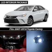 2007-2016 Toyota Camry White Interior LED Lights Package Kit