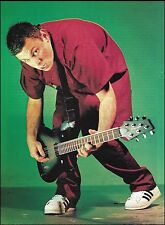 Staind (band) guitarist Mike Mushok with his Ibanez guitar 8 x 11 pinup photo
