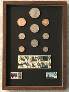 1965 Luxury Coin & Stamp Set For a 56th Birthday, Anniversary or Retirement Gift