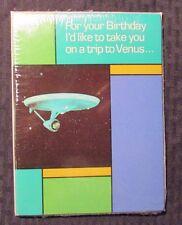 1976 STAR TREK Birthday Greeting Cards w/ Envelopes SEALED Lot of 5 Enterprise