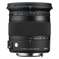 Sigma Contemporary 17-70mm F2.8-4 DC Macro OS HSM Lens Nikon Mount (Intl Model)