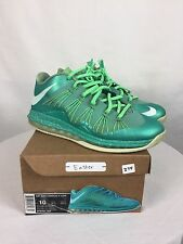 "2013 Nike Air Max Lebron X(10) Low ""Easter"" Size 10 W/Rep Box 579765-300"