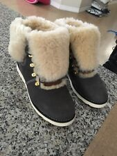 Shearling boots women Uggs 7 Winter Sheep Skin Fur