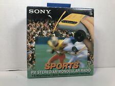 Sony SRF-X90 Ultimate Sports AM/FM Radio with 8X Monocular, 4 Watching Sport NEW