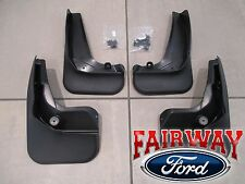 12 thru 16 Focus 5-door Hatchback OEM Ford Molded Splash Guard Mud Flap Set of 4