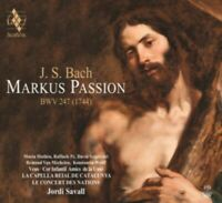 Jordi Savall, Capella Reial De Catalunya, Le Conce - Markus Passion Bw Neuf CD