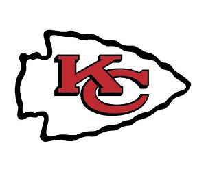Kansas City Chiefs 2 PACK NFL Decal Sticker - You Choose Size - FREE SHIPPING