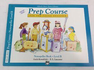 Alfred's Piano Library - Prep Course - Beginner - Notespeller - Level B - (B)