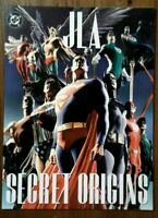 GN/TPB JLA Secret Origins Alex Ross Tabloid Size Justice League Of America