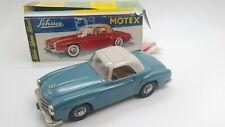 Tin Toy  ORIGINAL 1960s Friction SCHUCO MOTEX 1088 Mercedes 190 SL -Org. Box-