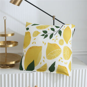 Luxury Lemon Leaf Flower Elastic Couch Sofa Covers Spandex Slipcover Protector