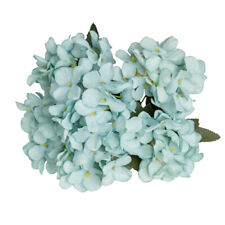 Artificial Hydrangea Bouquet Silk Flowers For Wedding Hotel Table Decor HD3Z
