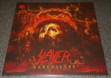 SLAYER-REPENTLESS-2015 LP LIMITED RED VINYL-500 ONLY+INSERT+INNER-NEW & SEALED