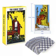 English Waite Rider Tarot Deck 78 Cards Set Beginner Enthusiasts Gift Games Card