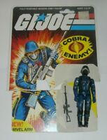GI Joe Cobra The Enemy Soldier v1.5 Swivel Arm Figure File Card Back Complete